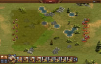 Tropas em uma batalha estratégica